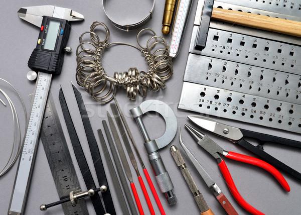 jeweler tools background Stock photo © tony4urban