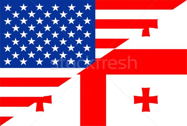 USA Grúzia Egyesült Államok Amerika fél vidék Stock fotó © tony4urban