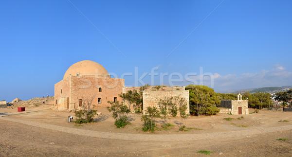 Fortezza cappella città Grecia punto di riferimento architettura Foto d'archivio © tony4urban