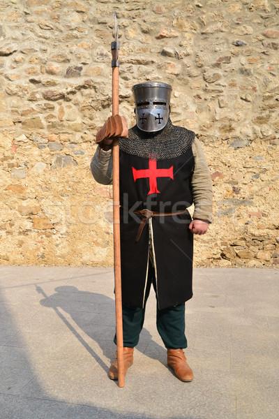 中世 戦士 祭り 騎士 ストックフォト © tony4urban
