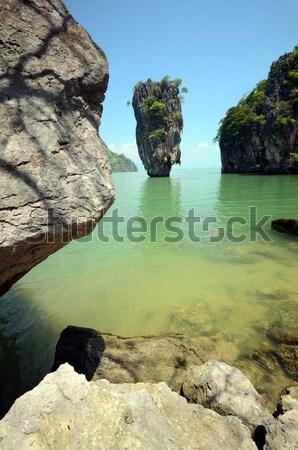 bond island Stock photo © tony4urban
