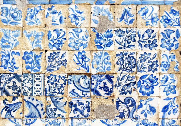 lisbon mosaic Stock photo © tony4urban