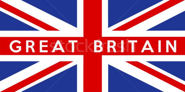 flag of United Kingdom Stock photo © tony4urban