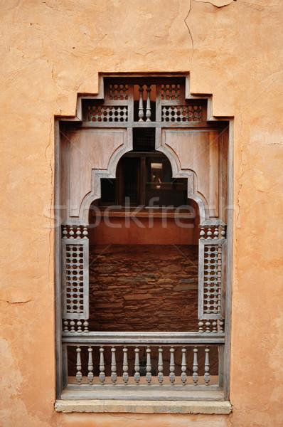 agadir medina window Stock photo © tony4urban