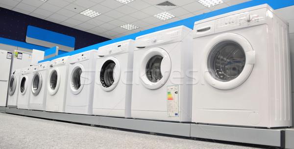 洗濯機 画像 表示 洗濯 市場 ストックフォト © tony4urban
