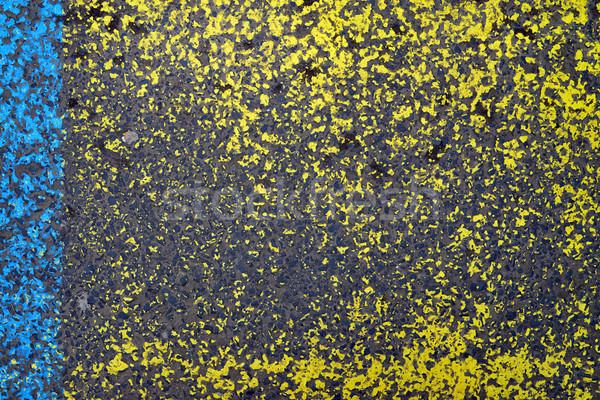 塗料 アスファルト テクスチャ 産業 通り グランジ ストックフォト © tony4urban