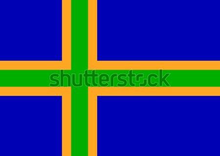 Gay bandiera Norvegia grande dimensioni orgoglioso Foto d'archivio © tony4urban