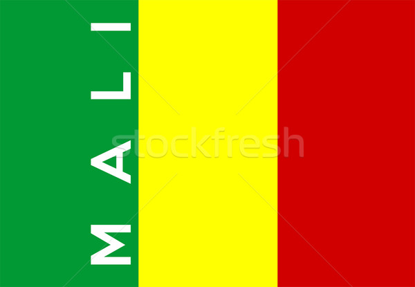 flag of mali Stock photo © tony4urban
