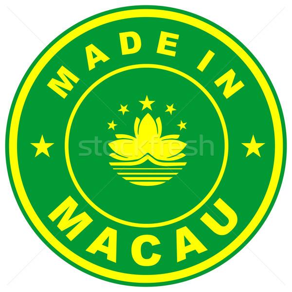 made in macau Stock photo © tony4urban