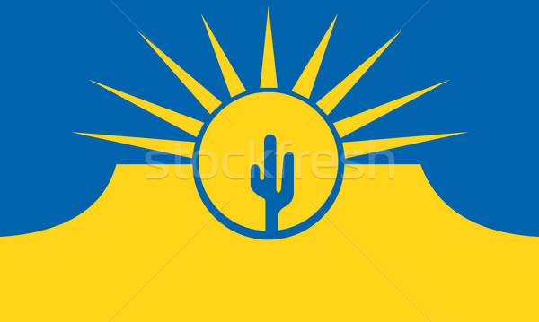 mesa city flag Stock photo © tony4urban