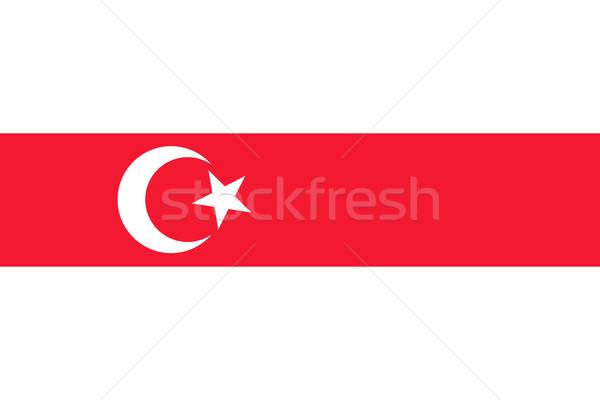Lipka Tatars flag Stock photo © tony4urban