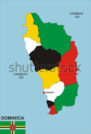 Израиль гей карта стране гордость флаг Сток-фото © tony4urban