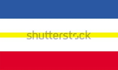 mecklenburg western pomerania flag Stock photo © tony4urban