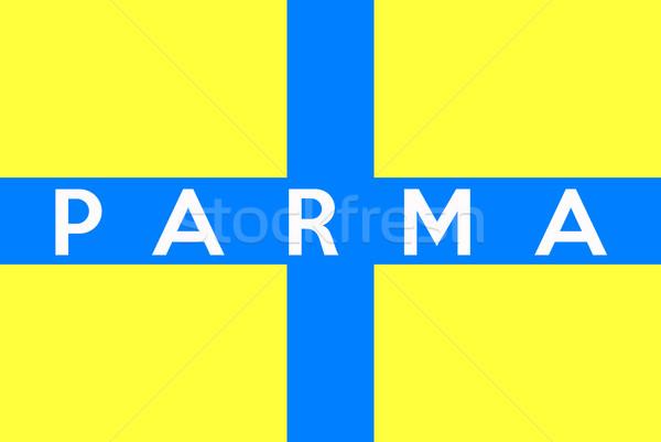Parma flag Stock photo © tony4urban