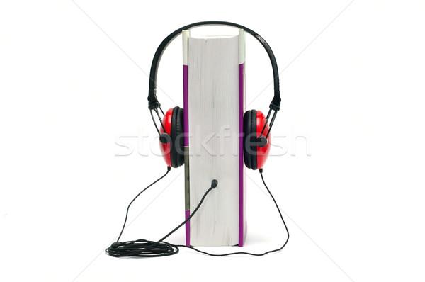 audiobook Stock photo © tony4urban