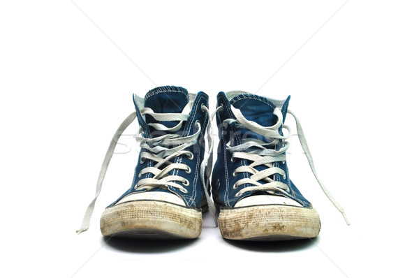 old sneakers Stock photo © tony4urban
