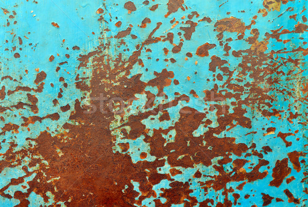 rusty metal sheet Stock photo © tony4urban