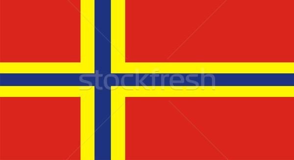 orkney flag Stock photo © tony4urban
