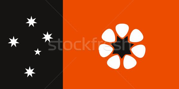 Australia settentrionale territorio bandiera grande dimensioni Foto d'archivio © tony4urban