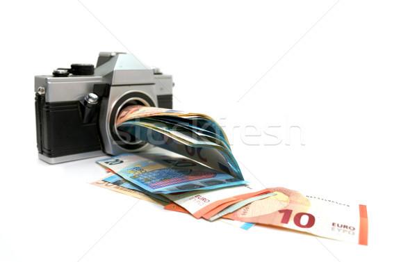 money making photo camera Stock photo © tony4urban