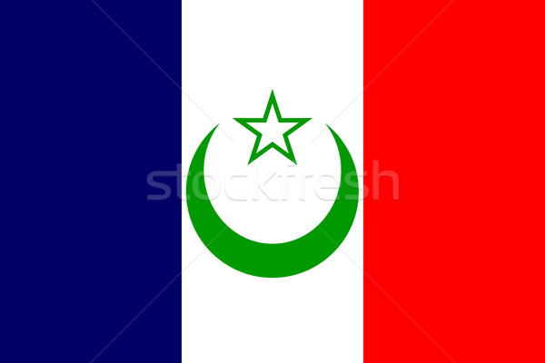 French Morocco flag Stock photo © tony4urban