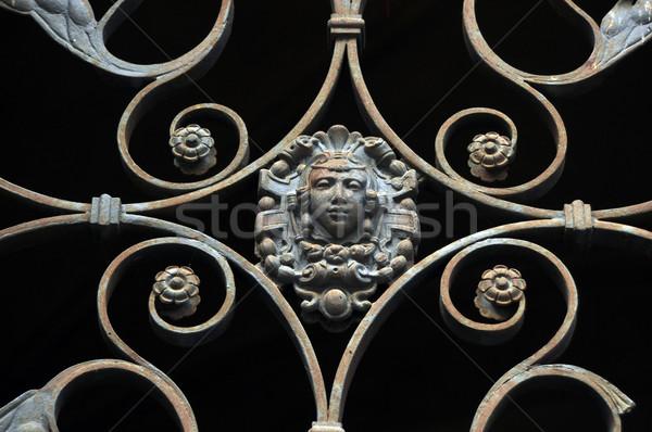 gate ornament Stock photo © tony4urban