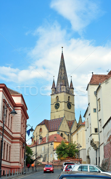 Parochial Evangelical Church Stock photo © tony4urban