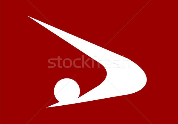 akita flag Stock photo © tony4urban