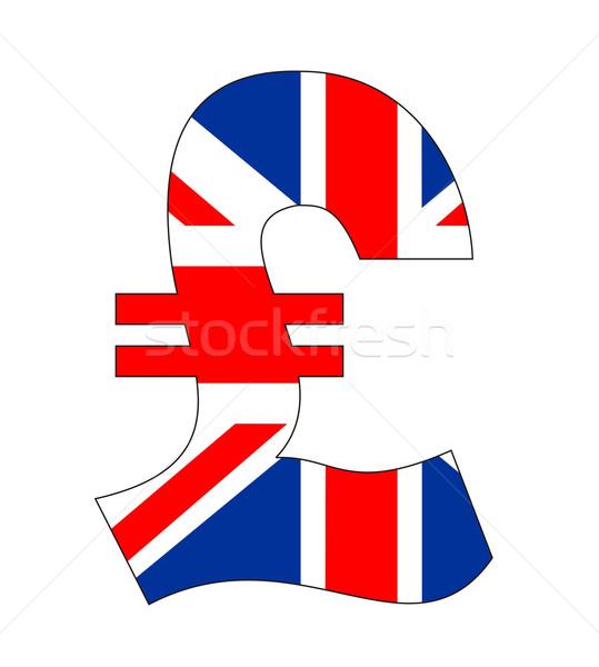 pound symbol Stock photo © tony4urban