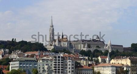budapest cityscape Stock photo © tony4urban