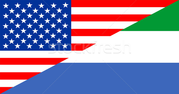 usa sierra leone Stock photo © tony4urban