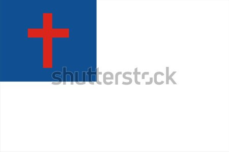 Photo stock: Christian · pavillon · grand · taille · religion