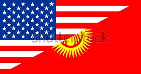 usa albania Stock photo © tony4urban