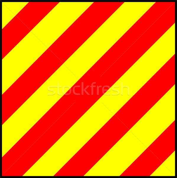 Międzynarodowych sygnał banderą flagi morza alfabet Zdjęcia stock © tony4urban