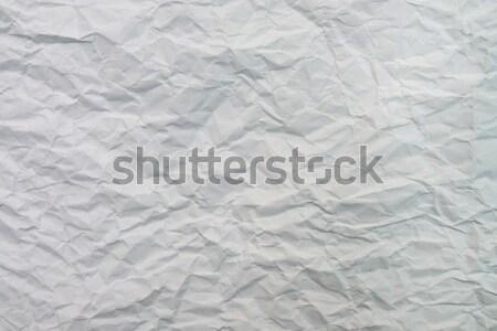 Papír lap öreg fehér textúra Stock fotó © tony4urban