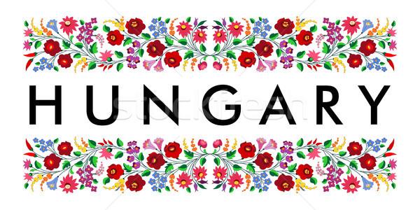 hungary country symbol name Stock photo © tony4urban