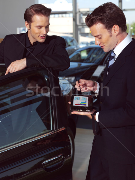 Man buying a car Stock photo © toocan