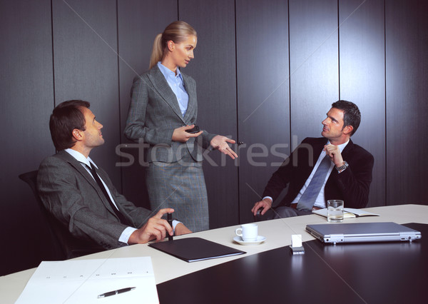 business people working Stock photo © toocan
