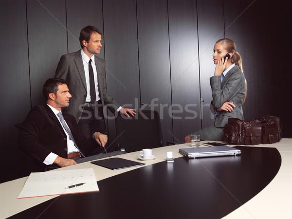 Gruppo uomini d'affari imprenditore imprenditrice ufficio Foto d'archivio © toocan