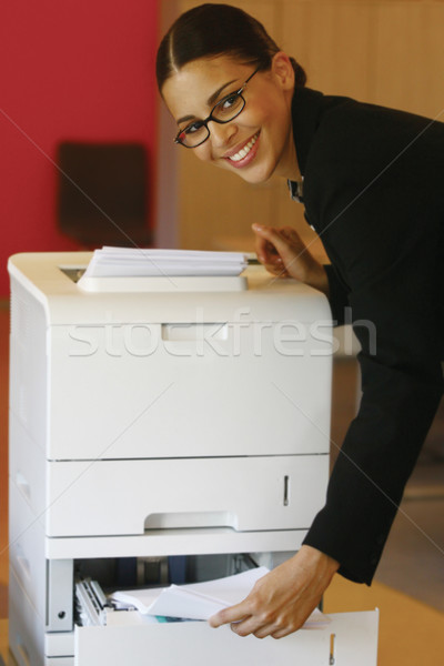 using Xerox lool Stock photo © toocan
