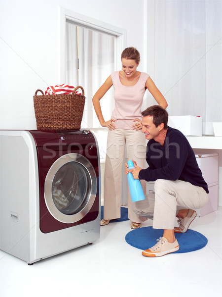 washing machine Stock photo © toocan