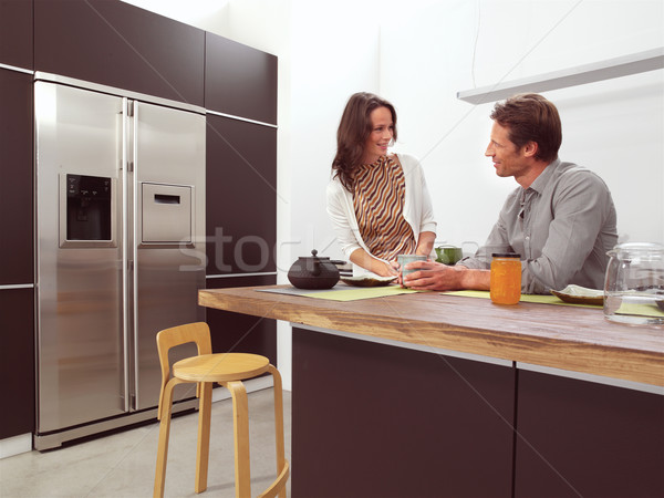 couple in the kitchen aa Stock photo © toocan