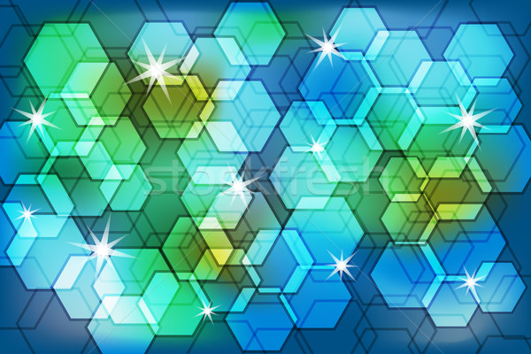 Abstract background bokeh effect Stock photo © toots