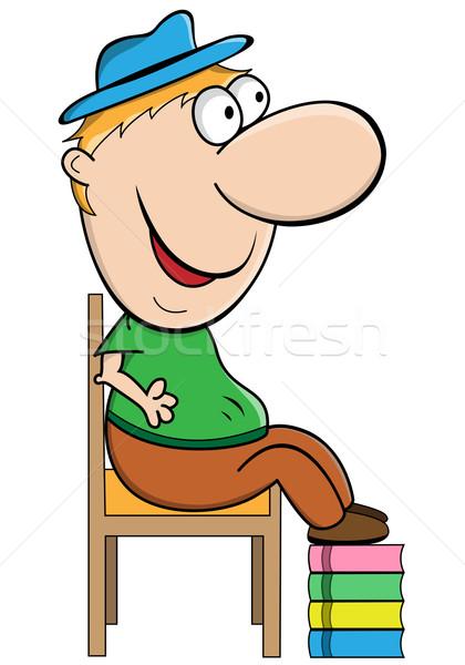карлик человека короткий подобно парень Сток-фото © toots