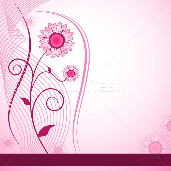 Fleur résumé fleurs mères jour anniversaire Photo stock © toots