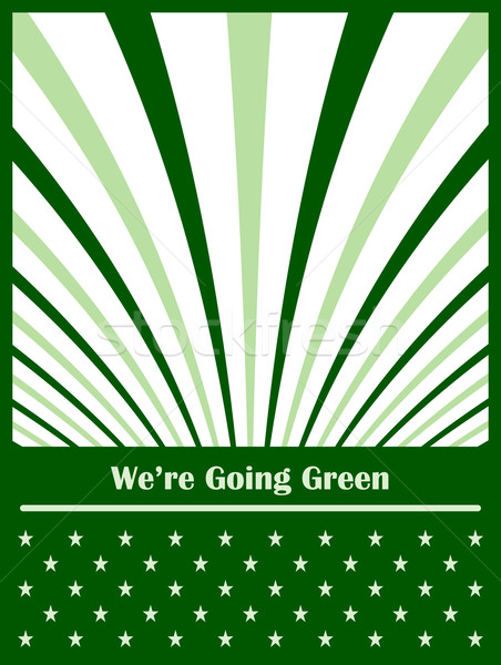 Go green concept abstract background Stock photo © toots