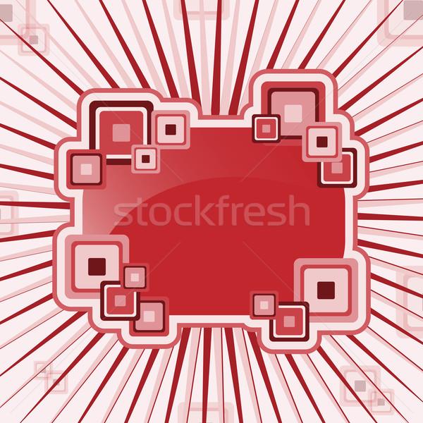 Abstract pleinen Rood roze Stockfoto © toots