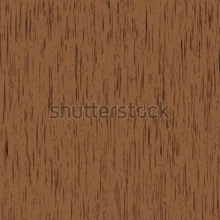 Bois simple vecteur brun la texture du bois texture Photo stock © toponium