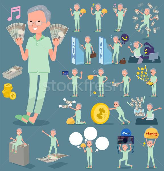 flat type patient grandfather_money Stock photo © toyotoyo