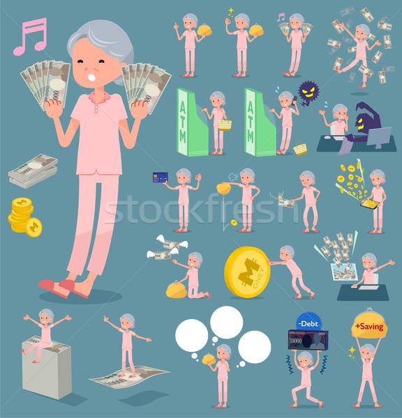 Typu pacjenta zestaw różny kobiet zakupy Zdjęcia stock © toyotoyo